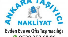 Ankara Taşıyıcı Nakliyat